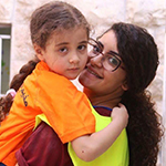 Narmeen spent summer 2017 volunteering at a children's camp.